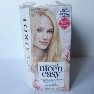 3 NEW Clairol nice'n easy Hair Color Ultra Blonde